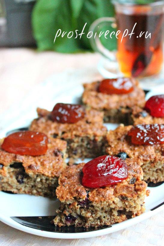 Овсяное печенье - кекс