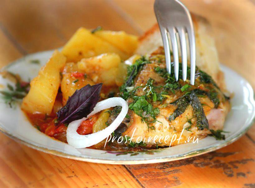 Армянская кухня - хашлама